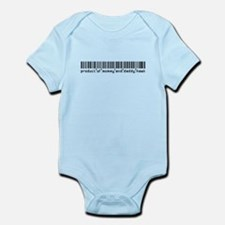 Hawk, Baby Barcode, Infant Bodysuit