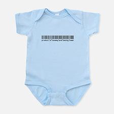 Hawk, Baby Barcode, Onesie