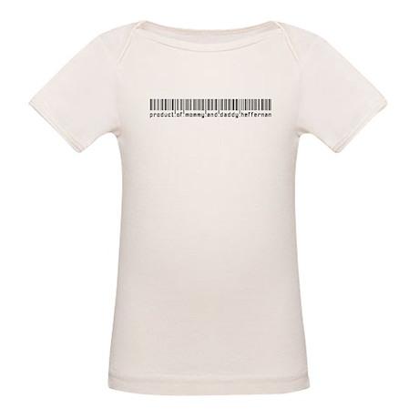 Heffernan, Baby Barcode, Organic Baby T-Shirt