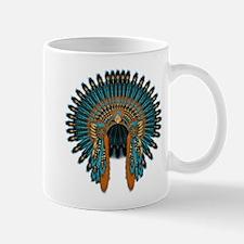 Native War Bonnet 07 Mug