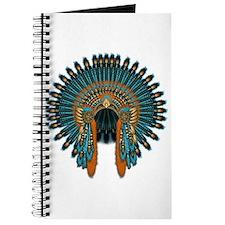 Native War Bonnet 07 Journal