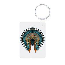 Native War Bonnet 07 Keychains