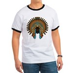Native War Bonnet 08 Ringer T