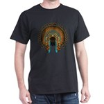 Native War Bonnet 08 Dark T-Shirt