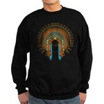 Native War Bonnet 08 Sweatshirt (dark)