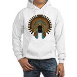 Native War Bonnet 08 Hooded Sweatshirt