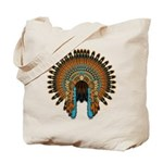 Native War Bonnet 08 Tote Bag