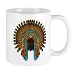 Native War Bonnet 08 Mug