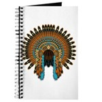 Native War Bonnet 08 Journal