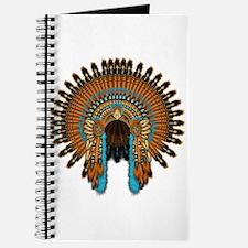 Native War Bonnet 08 Journal