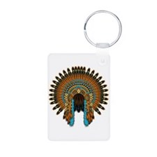 Native War Bonnet 08 Keychains