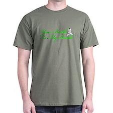 Lung Cancer Green T-Shirt