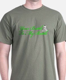 Lung Cancer Green T-Shirt
