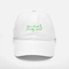 Lung Cancer Green Baseball Baseball Cap