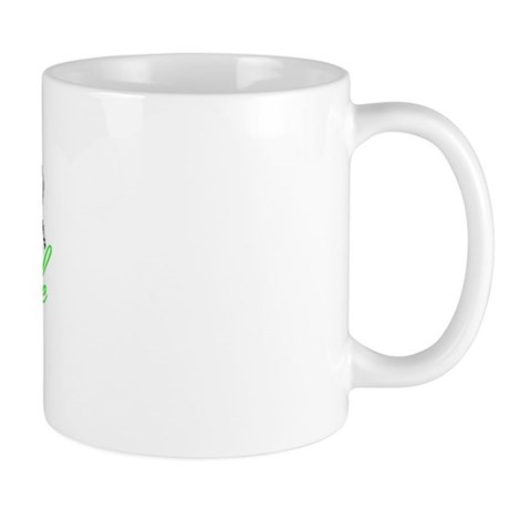 Lung Cancer Green Mug