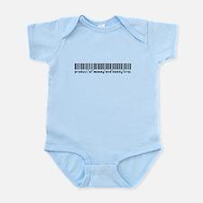 Krol, Baby Barcode, Infant Bodysuit