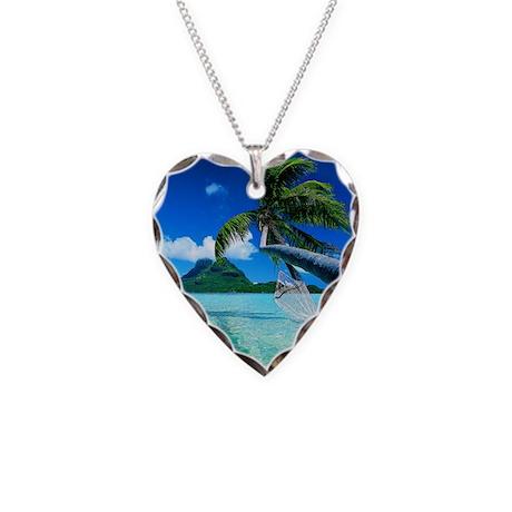 Beach Necklace Heart Charm