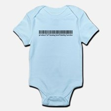 Landon, Baby Barcode, Infant Bodysuit