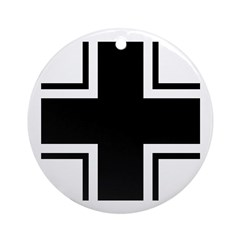 1918 Germany Aircraft Insignia Ornament (Round)