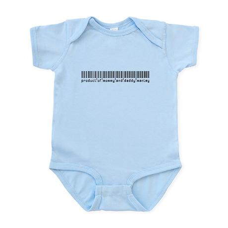 Manley, Baby Barcode, Infant Bodysuit