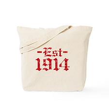 Established in 1914 Tote Bag