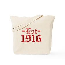 Established in 1916 Tote Bag