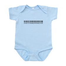 Nolan, Baby Barcode, Infant Bodysuit