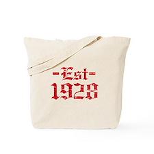 Established in 1928 Tote Bag