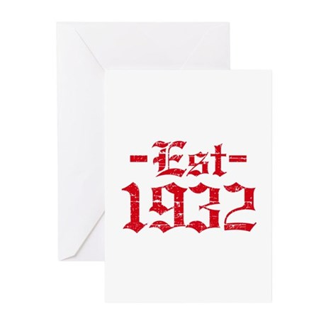 Established in 1932 Greeting Cards (Pk of 10)