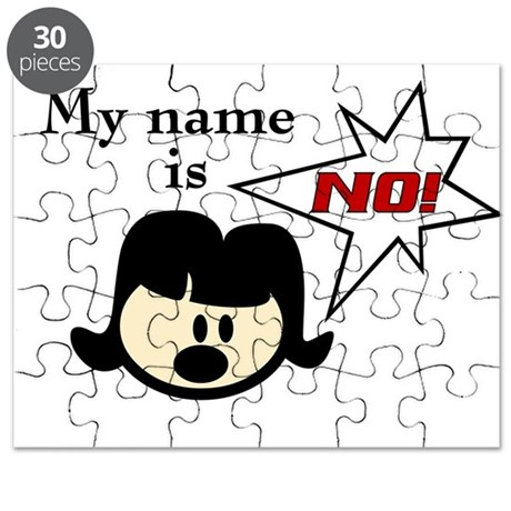 My name is NO Puzzle