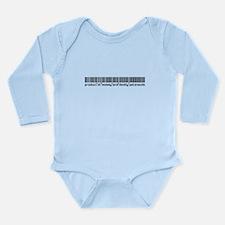 Patenaude, Baby Barcode, Long Sleeve Infant Bodysu