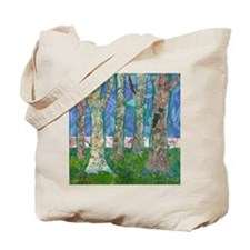 Music Amongst the Trees Tote Bag