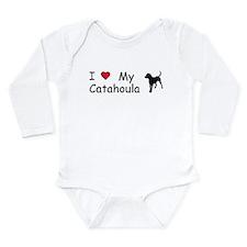 Cute Pet bumper Long Sleeve Infant Bodysuit