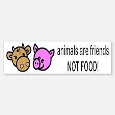 Animals Are Friends Bumper Bumper Bumper Sticker