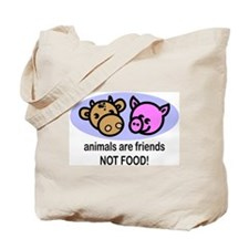 Animals Are Friends Tote Bag