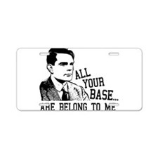 ALAN TURING - All Your Base Belong To Me Aluminum