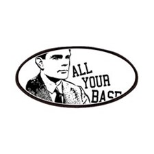 ALAN TURING - All Your Base Belong To Me Patches