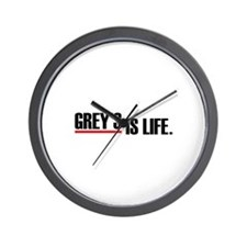 Grey's is life Wall Clock