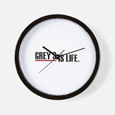 Grey's is life Wall Clock