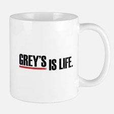 Grey's is life Small Small Mug