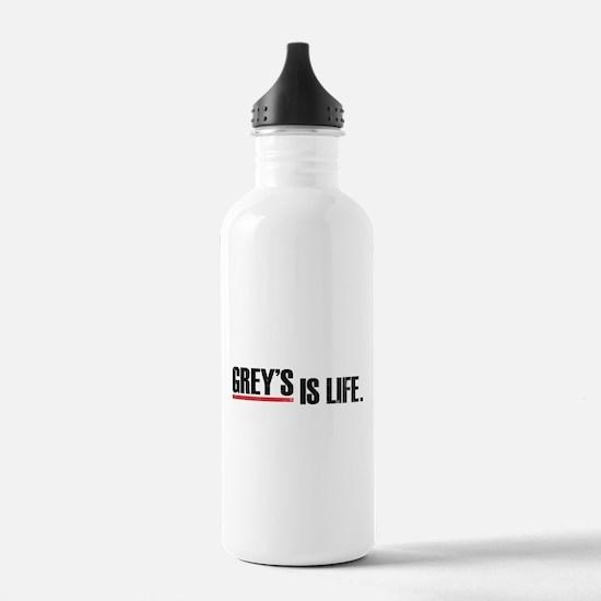 Grey's is life Water Bottle