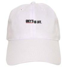 Grey's is life Baseball Cap
