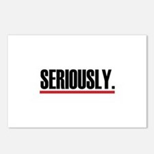 Seriously. Postcards (Package of 8)