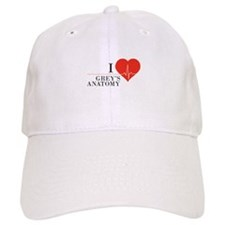 I love grey's anatomy Baseball Cap