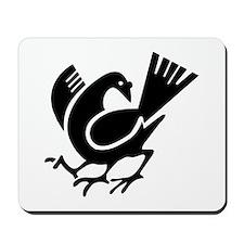 Three Legged Crow Mousepad