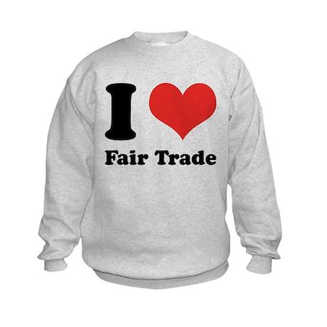 I Heart Fair Trade Kids Sweatshirt