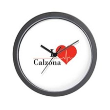 I love Calzona Wall Clock