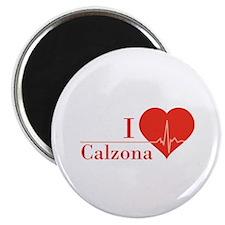 I love Calzona Magnet