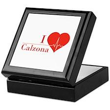 I love Calzona Keepsake Box
