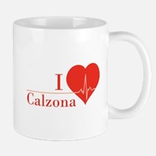 I love Calzona Mug